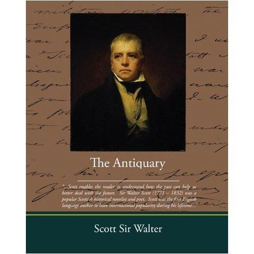 Large book cover: The Antiquary