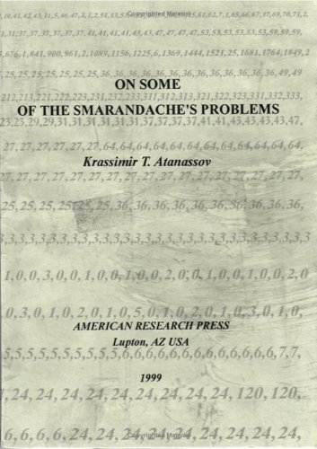 Large book cover: On Some of Smarandache's Problems