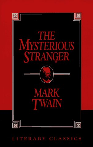 Large book cover: The Mysterious Stranger