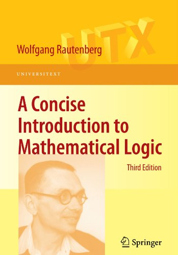 Large book cover: A Concise Introduction to Mathematical Logic