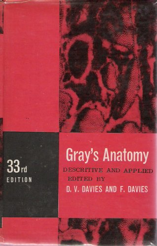 Large book cover: Anatomy: Descriptive and Applied