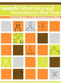 Large book cover: Launch! Advertising and Promotion in Real Time