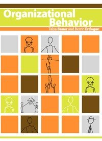 Large book cover: Organizational Behavior