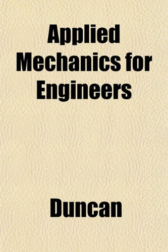 Large book cover: Applied Mechanics for Engineers