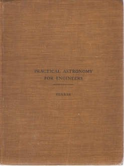 Large book cover: Practical Astronomy for Engineers