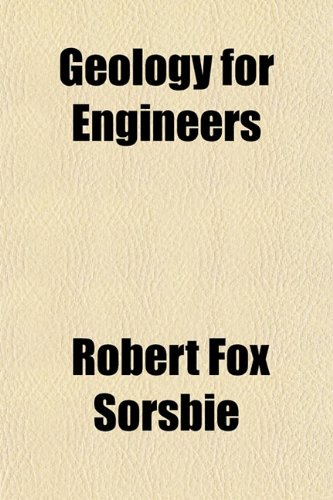 Large book cover: Geology for Engineers