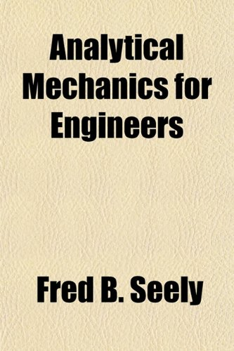 Large book cover: Analytical Mechanics for Engineers