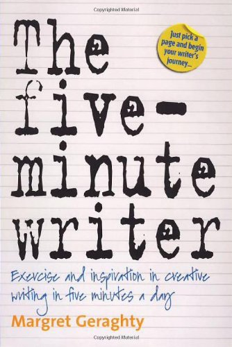Large book cover: The Five Minute Writer