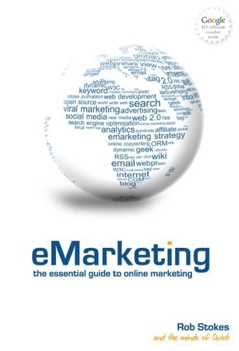 Large book cover: eMarketing: The Essential Guide to Online Marketing