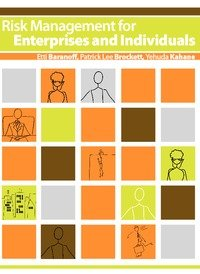 Large book cover: Risk Management for Enterprises and Individuals