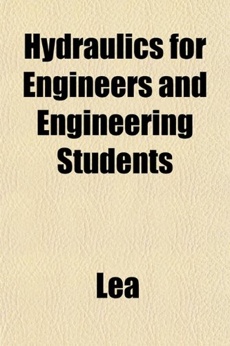 Large book cover: Hydraulics for Engineers and Engineering Students