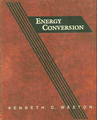 Large book cover: Energy Conversion