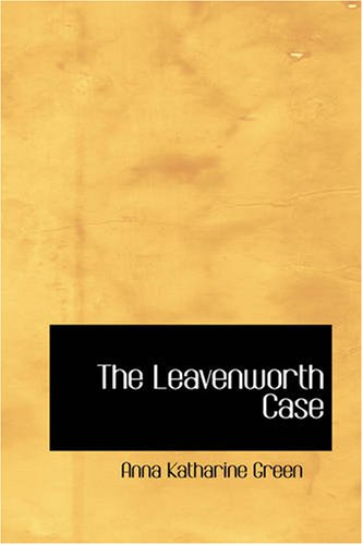Large book cover: The Leavenworth Case
