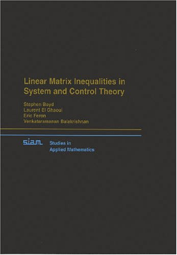 Large book cover: Linear Matrix Inequalities in System and Control Theory