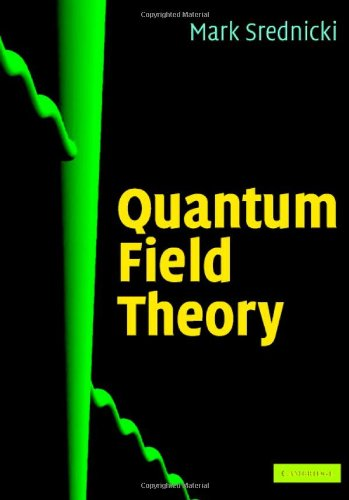 Large book cover: Quantum Field Theory