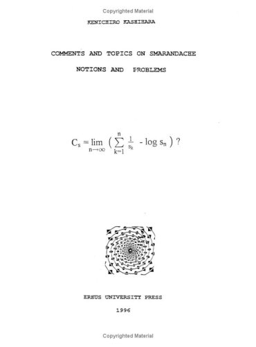 Large book cover: Comments and topics on Smarandache notions and problems