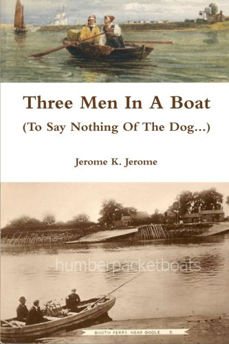Large book cover: Three Men in a Boat