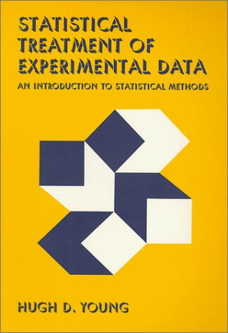 Large book cover: Statistical Treatment of Experimental Data