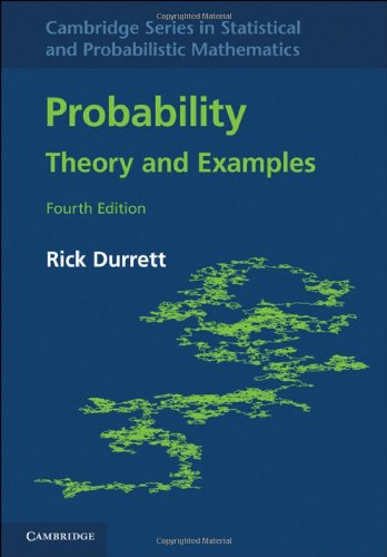 Large book cover: Probability: Theory and Examples