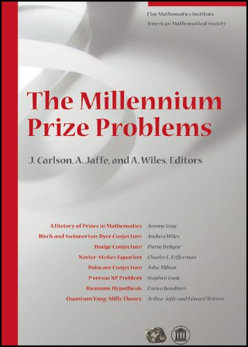 Large book cover: The Millennium Prize Problems