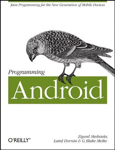 Large book cover: Programming Android