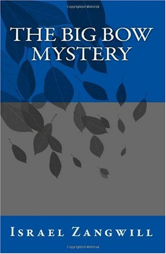 Large book cover: The Big Bow Mystery