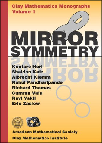 Large book cover: Mirror Symmetry