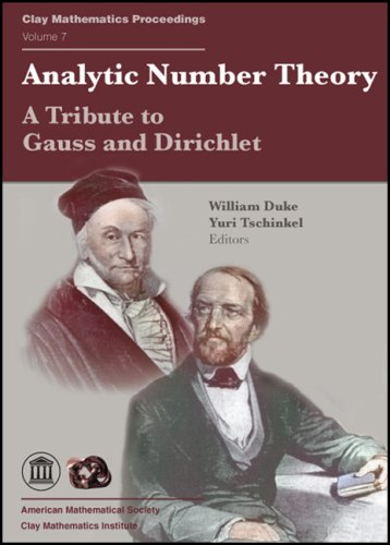 Large book cover: Analytic Number Theory: A Tribute to Gauss and Dirichlet