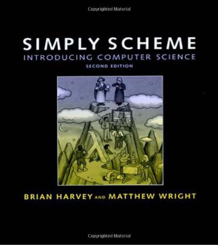 Large book cover: Simply Scheme: Introducing Computer Science