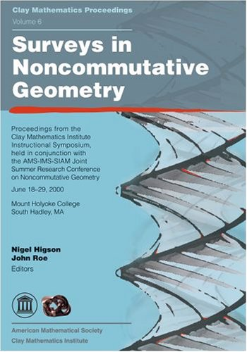Large book cover: Surveys in Noncommutative Geometry