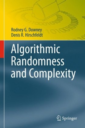 Large book cover: Algorithmic Randomness and Complexity