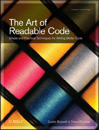 Large book cover: The Art of Readable Code