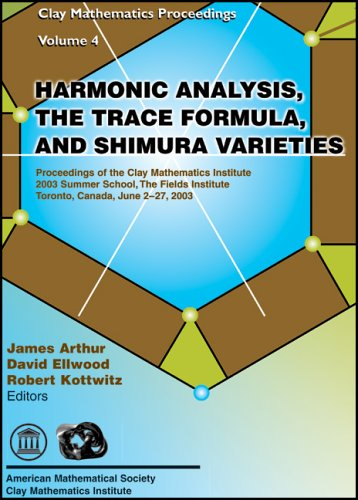 Large book cover: Harmonic Analysis, the Trace Formula, and Shimura Varieties