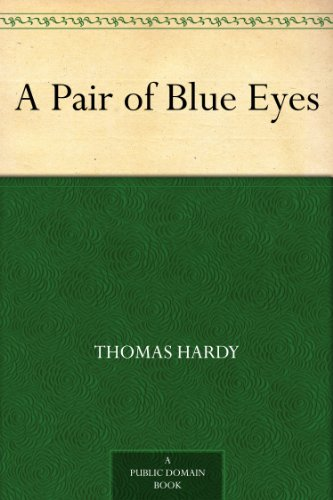 Large book cover: A Pair of Blue Eyes