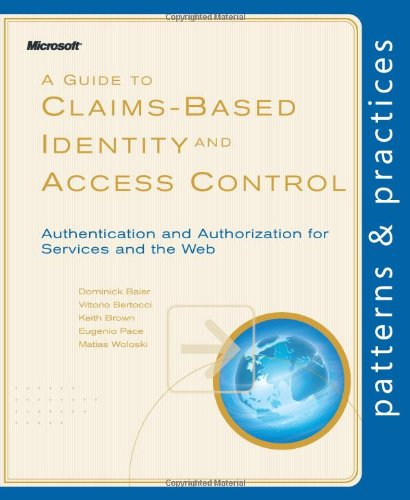 Large book cover: A Guide to Claims-Based Identity and Access Control