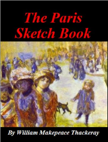 Large book cover: The Paris Sketch Book