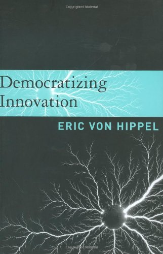 Large book cover: Democratizing Innovation