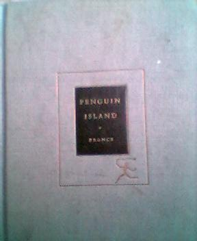 Large book cover: Penguin Island