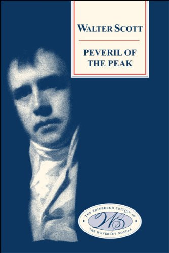 Large book cover: Peveril of the Peak