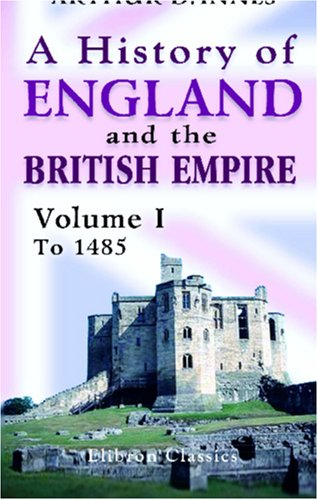 Large book cover: A history of England and the British Empire
