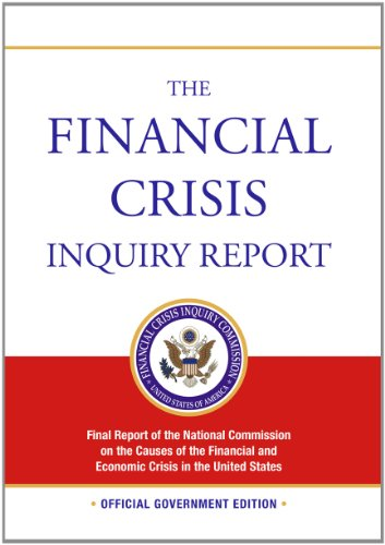 Large book cover: The Financial Crisis Inquiry Report