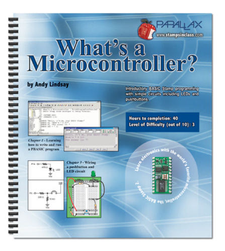 Large book cover: What's a Microcontroller?