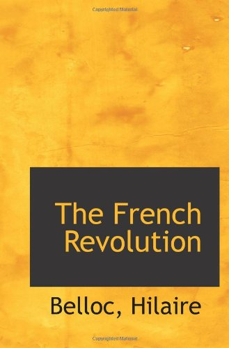 Large book cover: The French Revolution