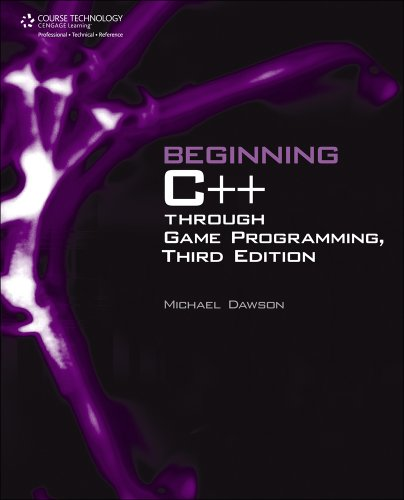 Large book cover: Beginning C++ Through Game Programming