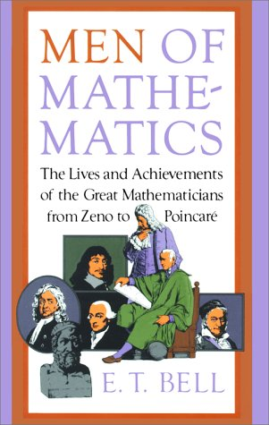 Large book cover: Men of Mathematics