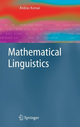Large book cover: Mathematical Linguistics