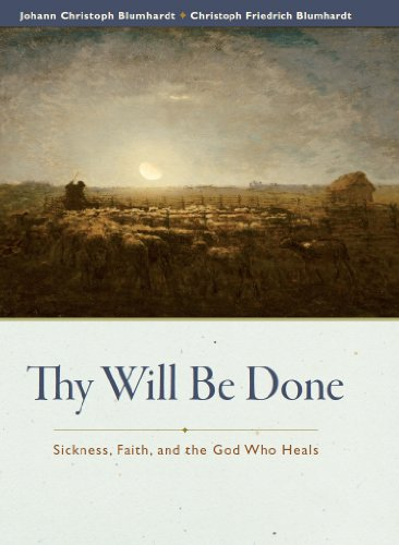Large book cover: Thy Will Be Done: Sickness, Faith, and the God Who Heals