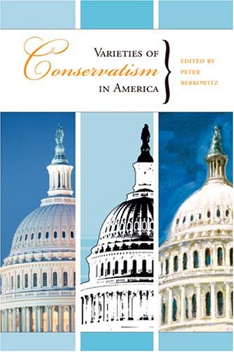 Large book cover: Varieties of Conservatism in America