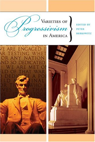 Large book cover: Varieties of Progressivism in America