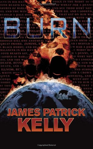 Large book cover: Burn